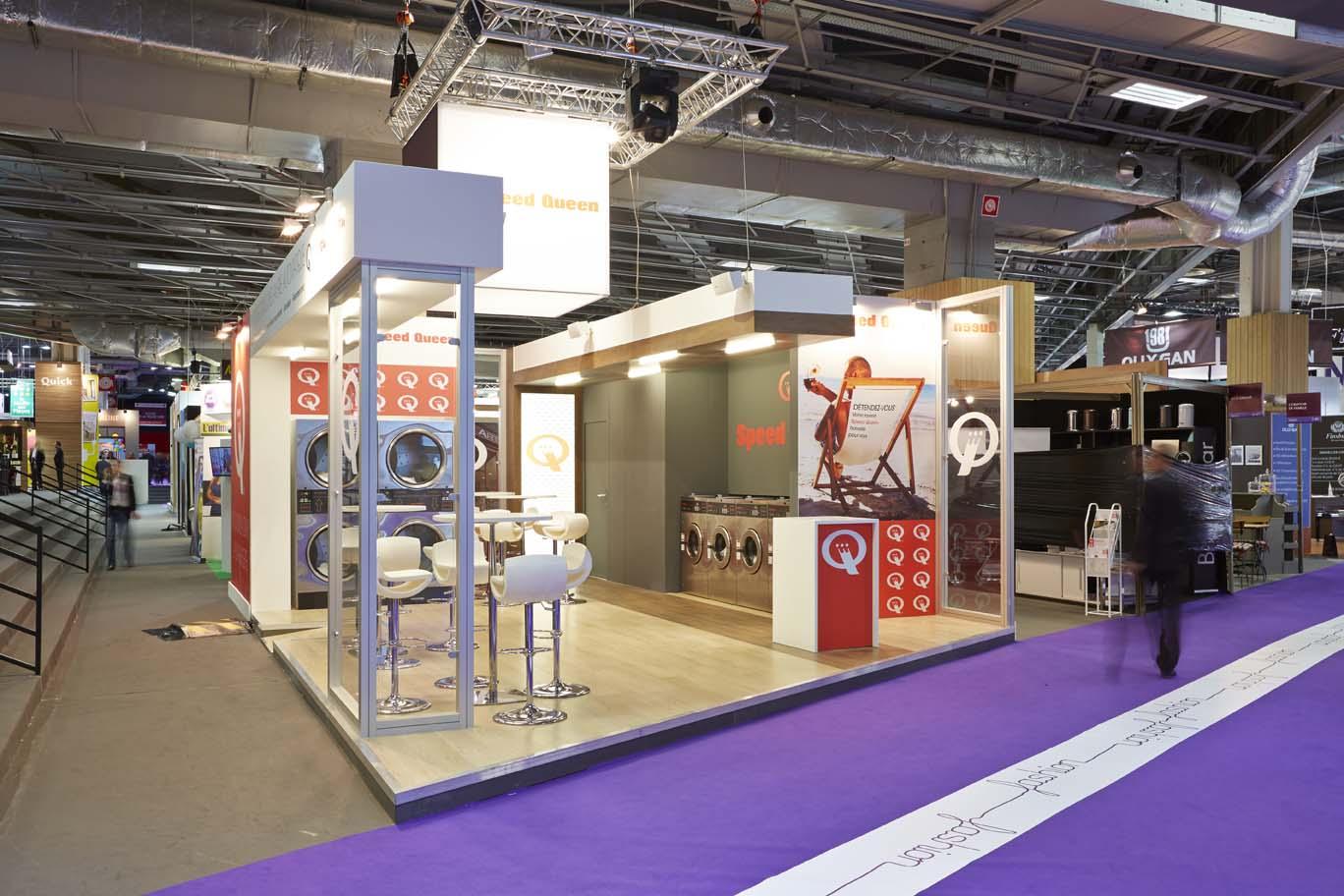 Stand Speed Queen exposition franchises à Paris 1