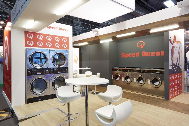 Stand Speed Queen exposition franchises à Paris 2