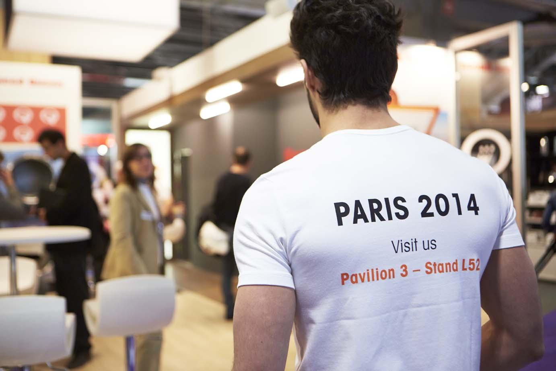 Tshirt Speed Queen expo franchise à Paris