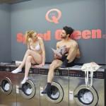 Démonstration laverie Speed Queen à Paris 8