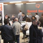 Visiteurs au stand Speed Queen expo franchise Paris 1