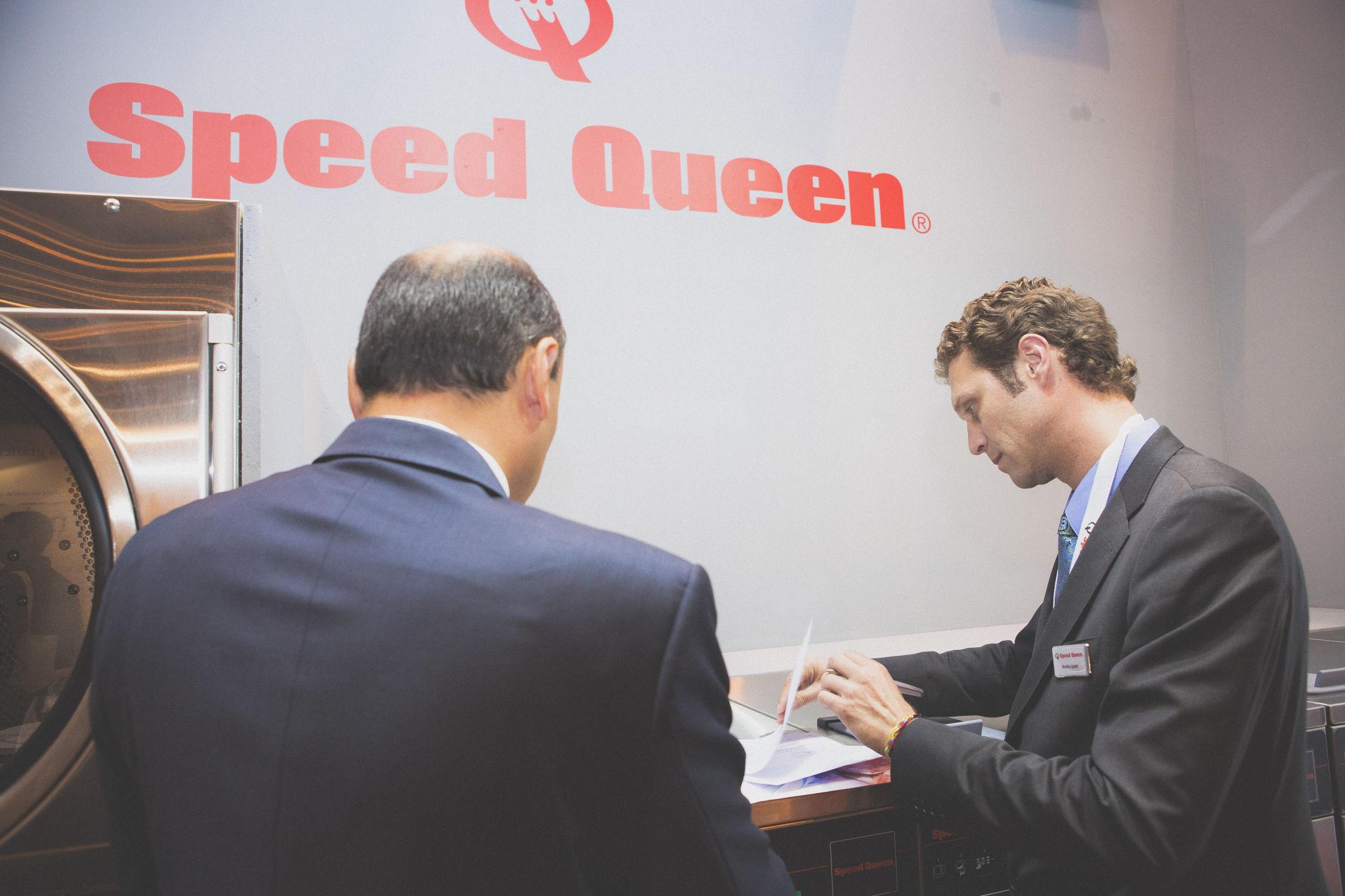 Presentando lavanderías Speed Queen en España