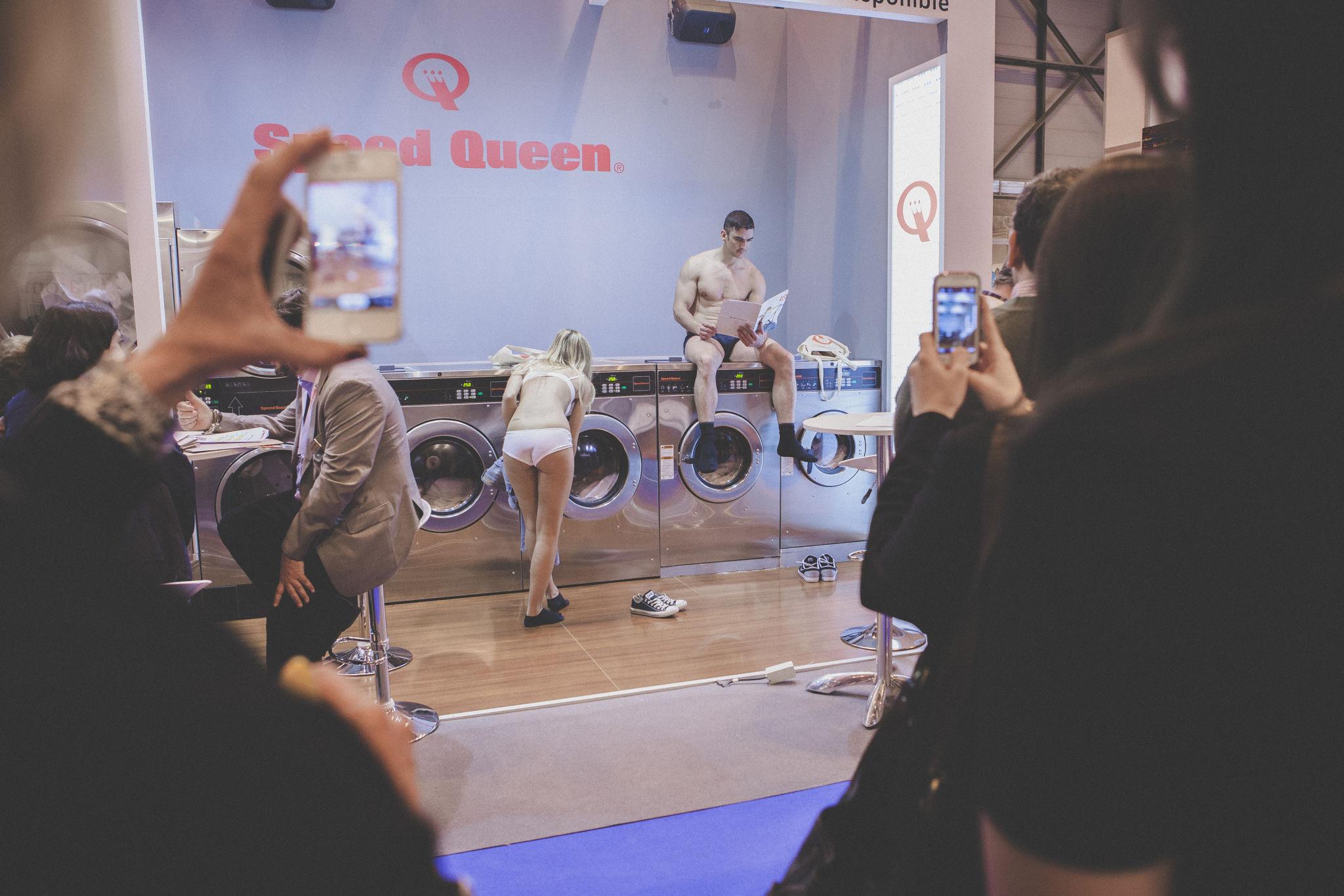 Demostración lavandería Speed Queen España 3