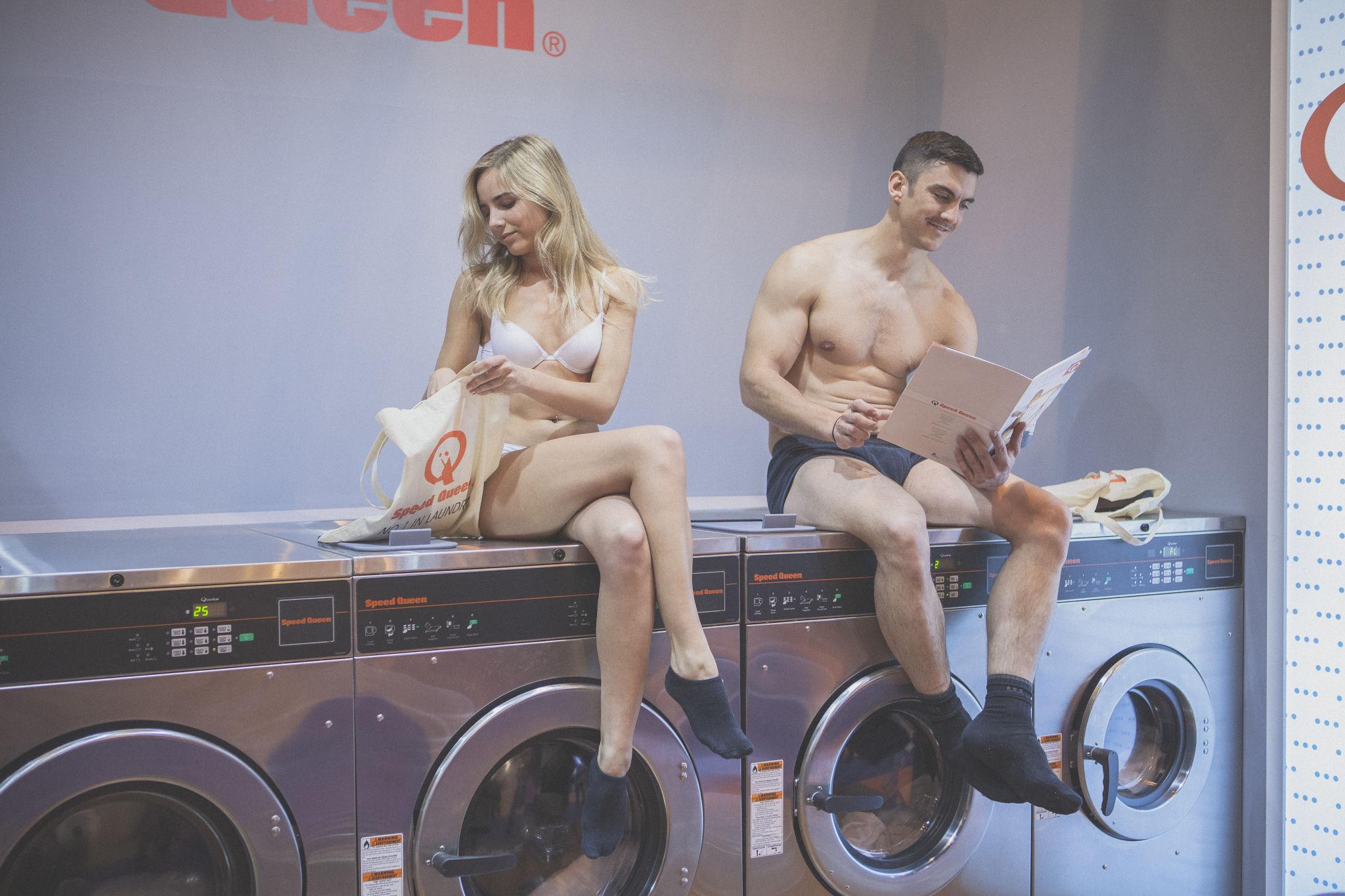 Demostración lavandería Speed Queen España 2