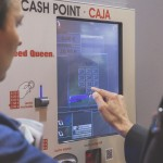 Probando máquina cash point Speed Queen en España