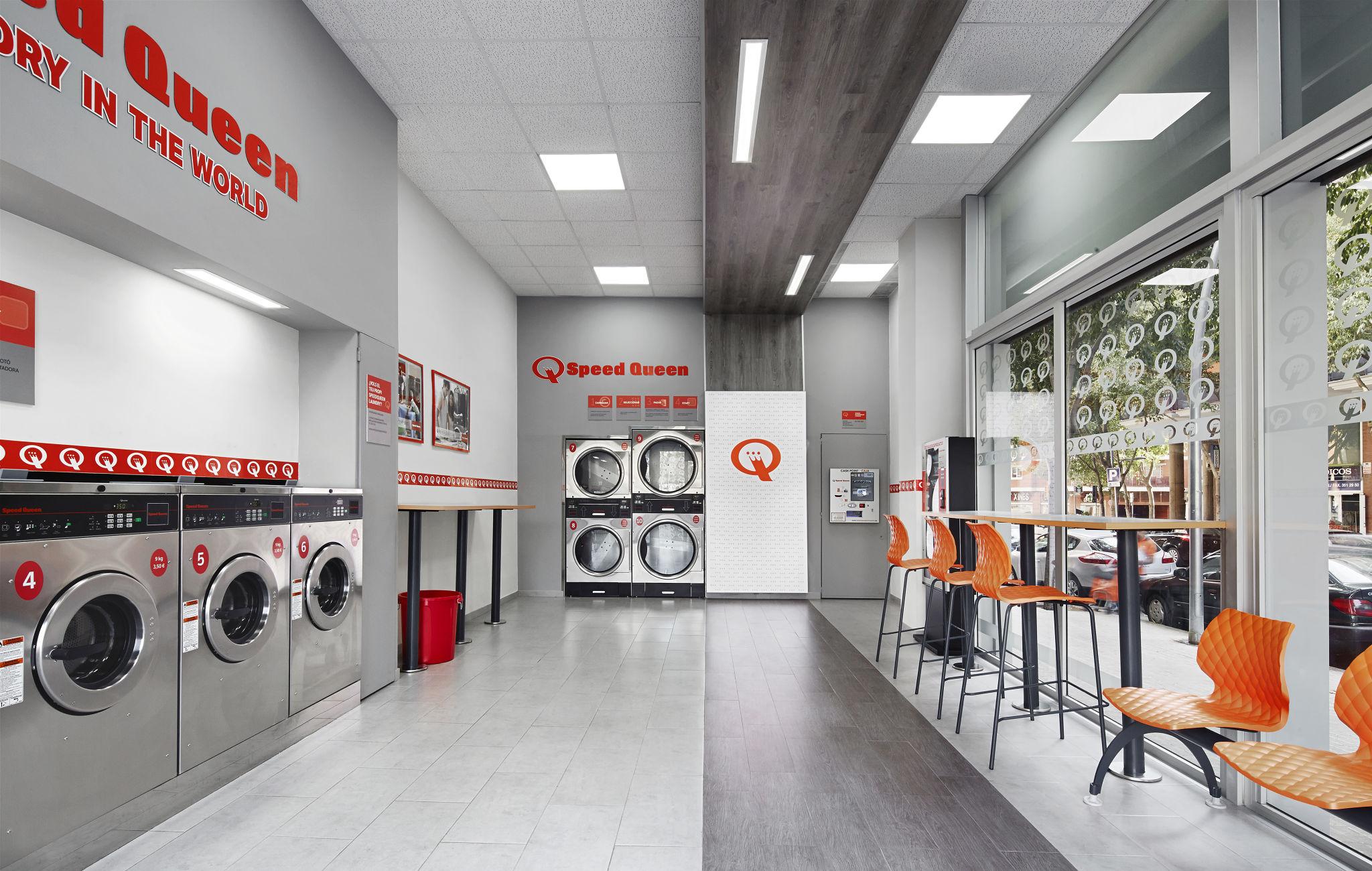 Nuevas lavanderías Speed Queen en Madrid y Barcelona