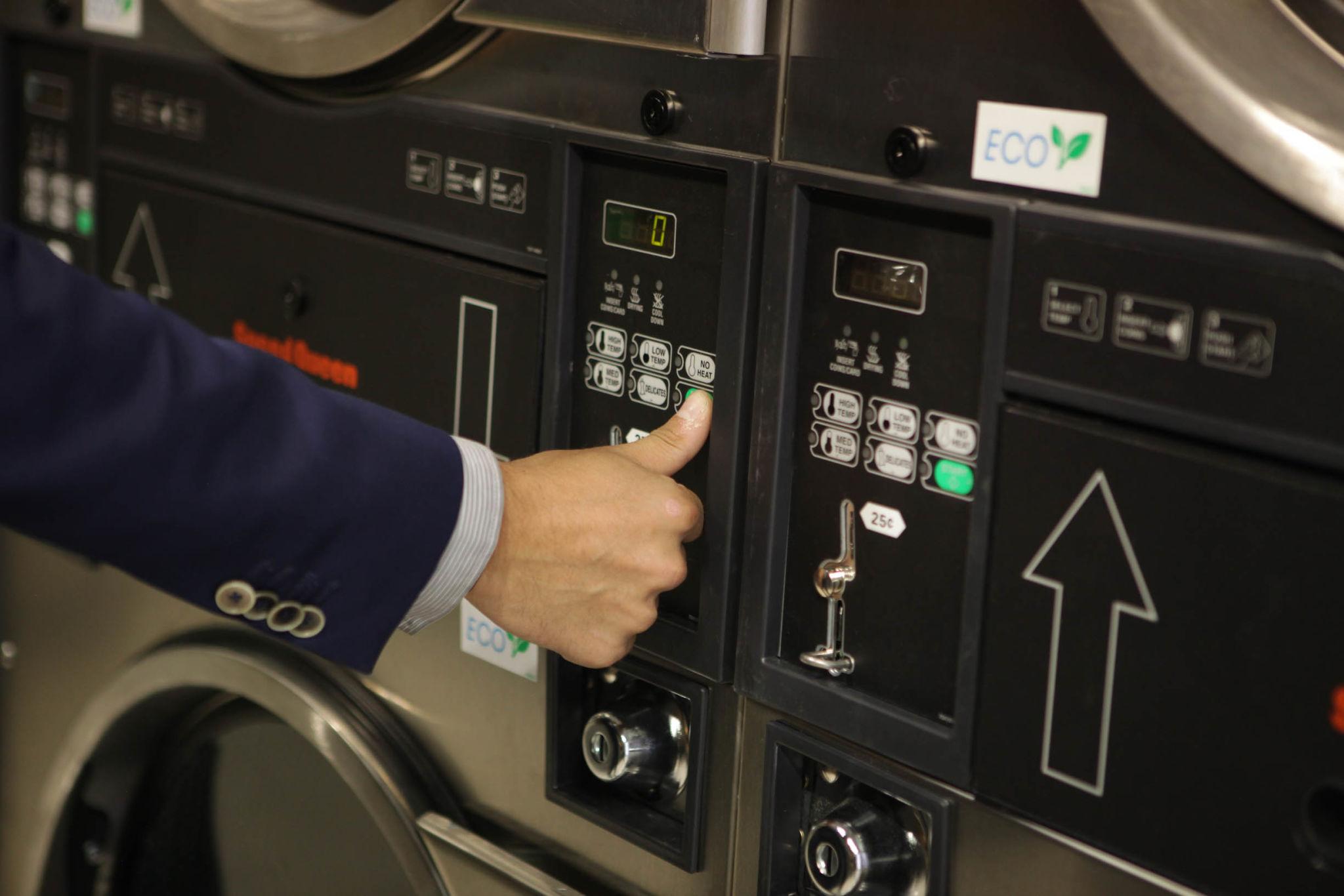 Testing Speed Queen washing machine Russia