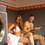 Speed Queen washing machine demonstration 2 in Russia