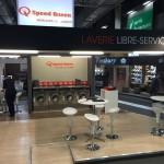 Stand lavaumatique Speed Queen exposition en France