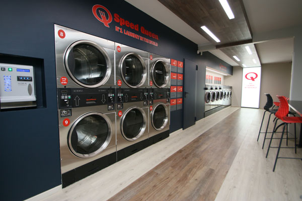 New Speed Queen laundry store in Maribor, Slovenia
