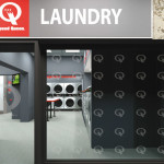 Speed Queen laundry in Germany