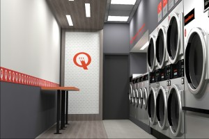 Inside Speed Queen Commercial Laundry UK