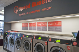 Inside Speed Queen Commercial Laundry Poland