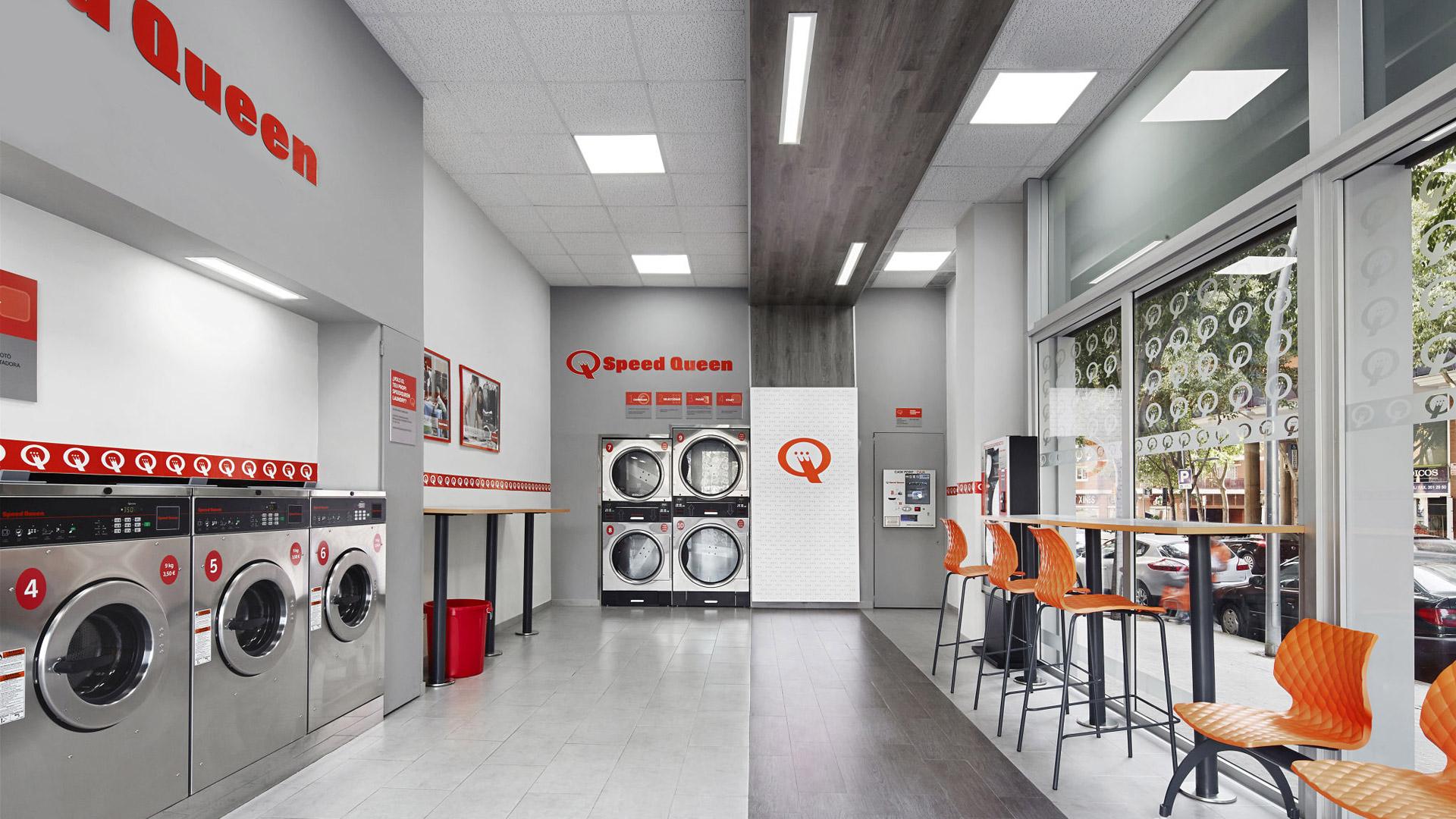 Speed Queen Waschmaschinen Und Trockner Haben Waschsalon