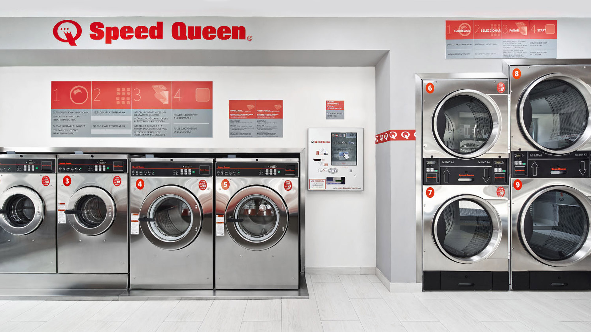 Best design for your laundromat