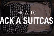 Cómo hacer la maleta simple y rápidamente