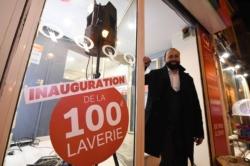 , 100ème laverie en France en seulement 5 ans. Preuve d'un concept qui réussit !
