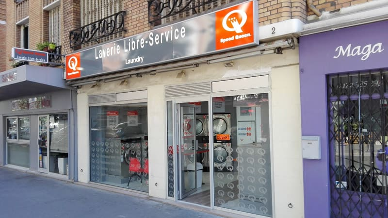 Laverie Speed Queen Paris 17 rue Senlis