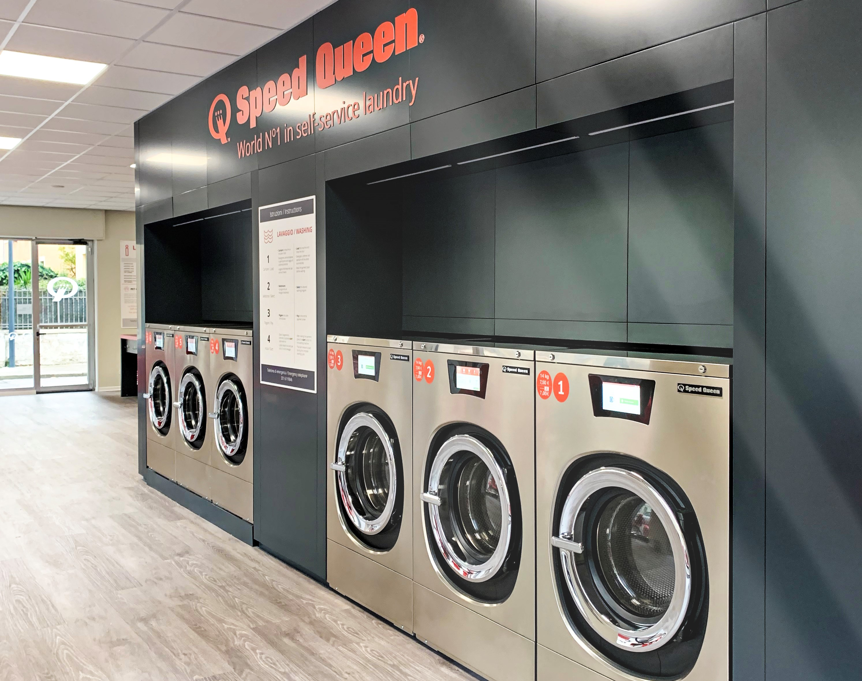 Las lavanderías continúan abiertas., Speed Queen continúa con la mayoría de sus tiendas abiertas en España durante la crisis sanitaria.