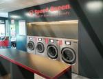 laundromat, Opening a laundromat in Orbassano (Italy)