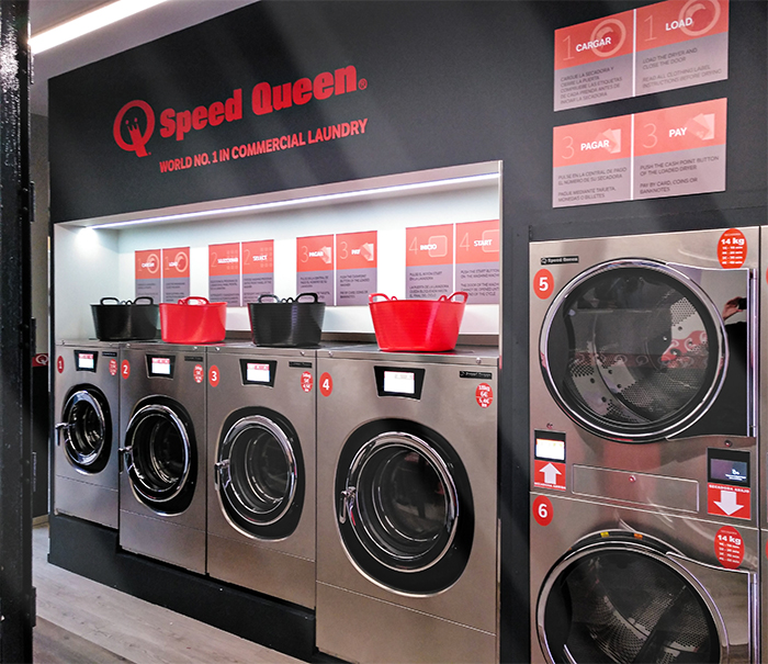 revamp, RETOOLING A LAUNDROMAT WITH SPEED QUEEN