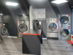 laundromat, Opening a laundromat in Hennebont (France)