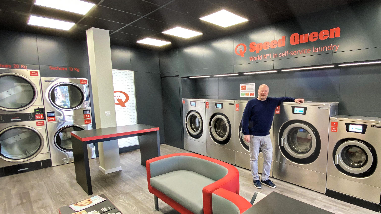 , Aperta in Francia la lavanderia self service nr. 800 con il marchio Speed Queen