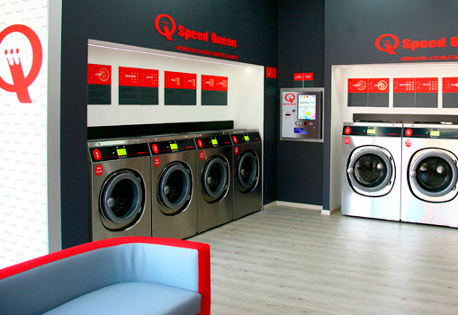 Der SB-Waschsalon-Markt