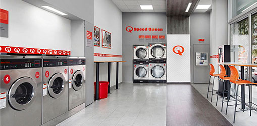World number 1 in self service laundromats
