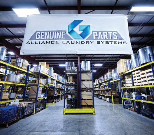 Alliance Laundry Systems, the No. 1 in industrial laundry