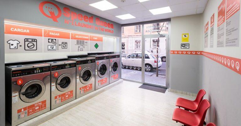 laundromat calle hilari n eslava 15 in madrid speed queen investor. Black Bedroom Furniture Sets. Home Design Ideas