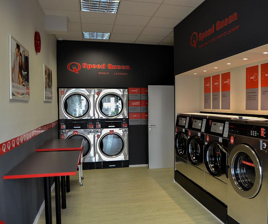self service laundry dunajska cesta in ljubljana be igrad speed queen investor. Black Bedroom Furniture Sets. Home Design Ideas