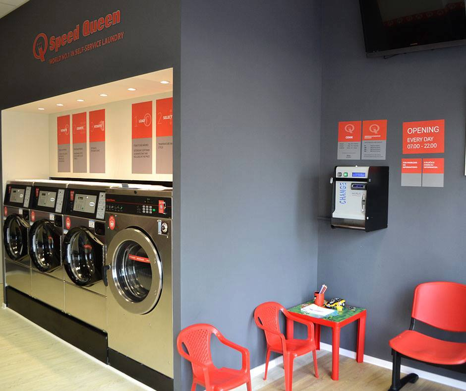 Self service laundry dunajska cesta in ljubljana be igrad speed queen investor - Comment enlever une tache de vin rouge deja lave ...